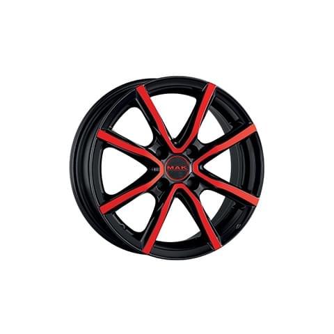 MAK MILANO 4 BLACK AND RED